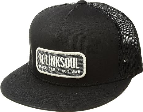 eb0ea16b99133 Linksoul Unisex LS851 Hat Black One Size at Amazon Men s Clothing store