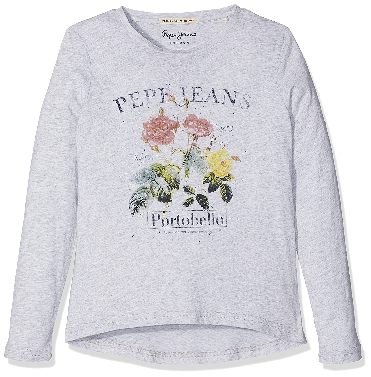 Pepe Jeans Mädchen Long Sleeve Top Camille Jr PG501229
