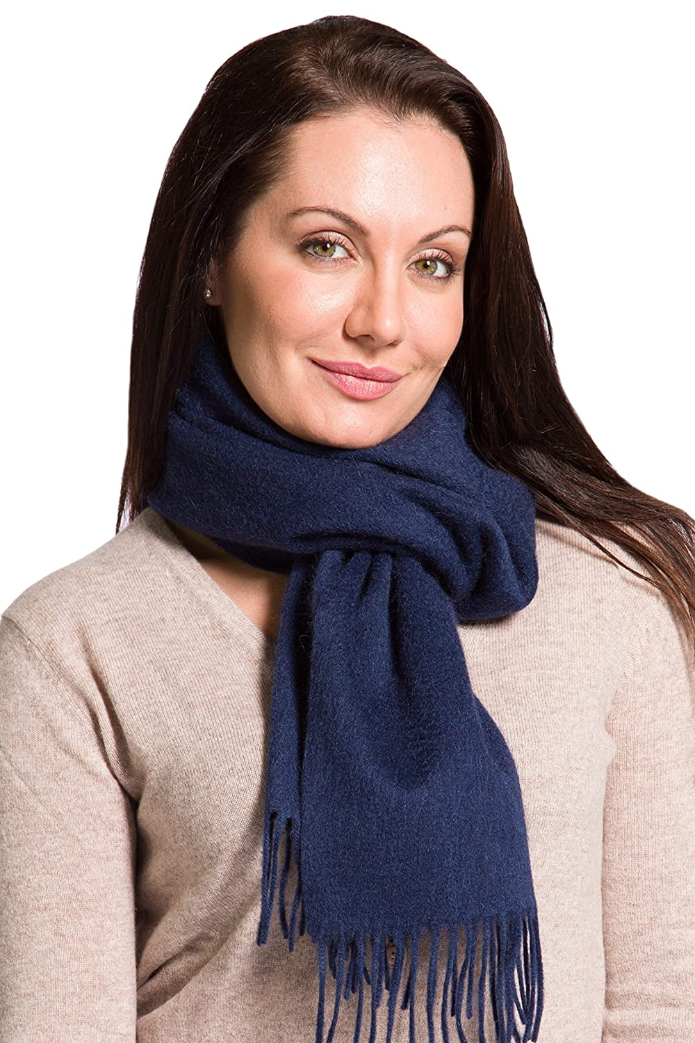 Fishers Finery Womens 100/% Pure Cashmere Winter Scarf; 2-Ply Dehaired WA-03-SF1-017-HOU-U
