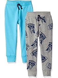 Spotted Zebra boys 2-Pack Fleece Jogger Pants Sweatpants