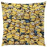 Minions 042353 Kissen Family , Polyester , 40 x 40 cm