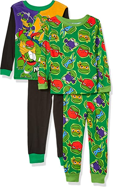Nickelodeon Ninja Turtle 2 pcs  Pajama Set Size Fleece  2T,3T Christmas Gift