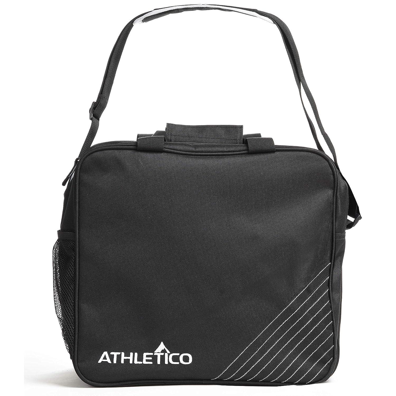 Einzelball Bowlingtasche mit gepolstertem Bowlingball Halter Athletico Essential Bowlingtasche