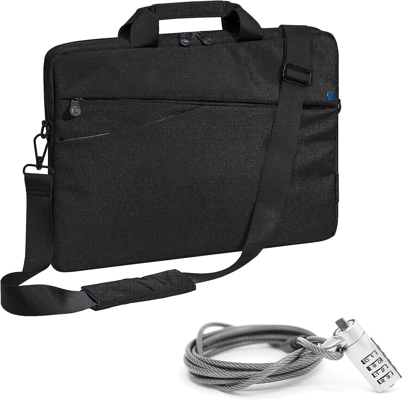 PEDEA Shoulder Bag, Black/Blue