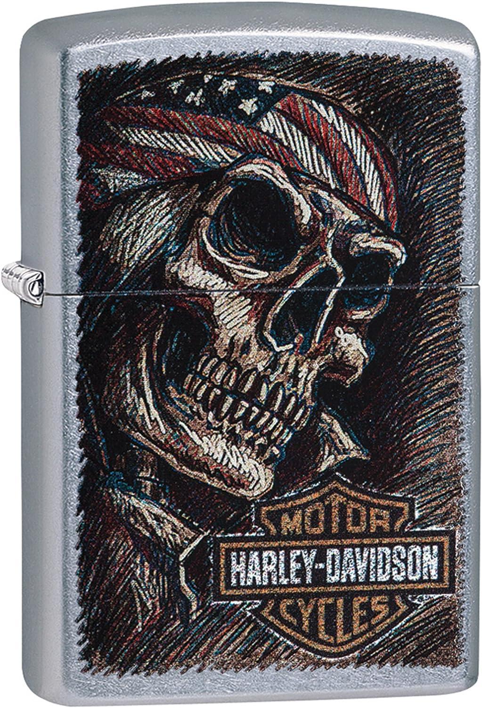 Zippo Harley Davidson – Mechero de Gasolina, latón, Aspecto de ...