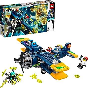 LEGO Hidden Side - Avión Acrobático de El Fuego, Set con Avioneta ...