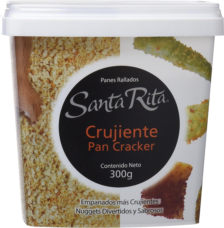 Santa Rita Pan Rallado, Cracker Muy Crujiente - 6 Paquetes de 300 gr - Total: 1800 gr: Amazon.es: Alimentación y bebidas