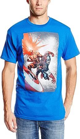 Marvel Team-Ups Men's Captain Cyclopse T-Shirt
