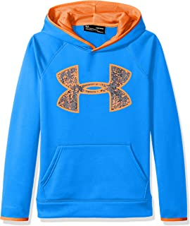 36065d9f0 Amazon.com: Under Armour Boys Storm Fleece Highlight Big Logo Hoodie ...