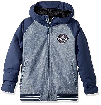 100% korkealaatuista valtava myynti tuoreita tyylejä Amazon.com : Burton Boys Game Day Jacket, Denim Chambray ...