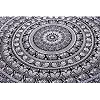 Indian Elephant Mandala Tapestry, Hippie Tapestries, Tapestry Wall