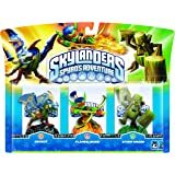 Skylanders - Triple Pack A: Drobot, Stump Smash, Flameslinger