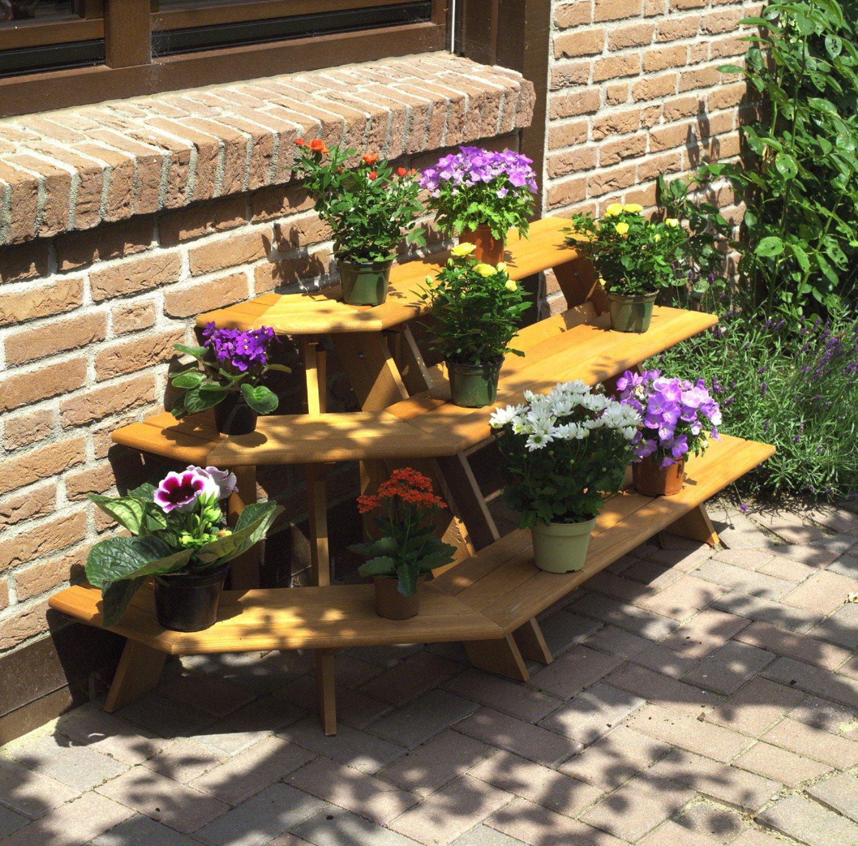 Einzigartig Blumentreppe Selber Bauen Ideen