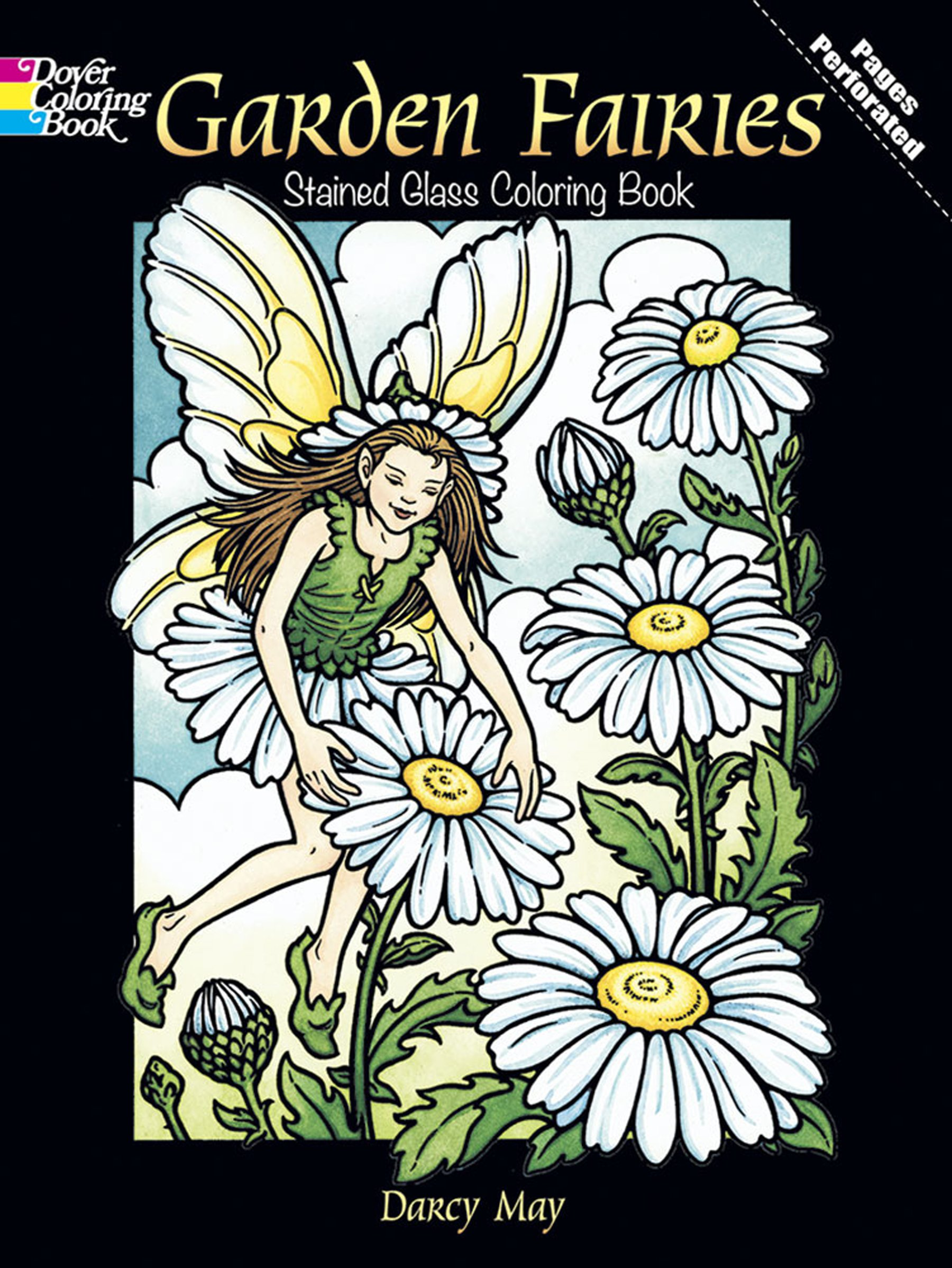 Garden Fairies Stained Glass Coloring Book (Dover Stained Glass ...