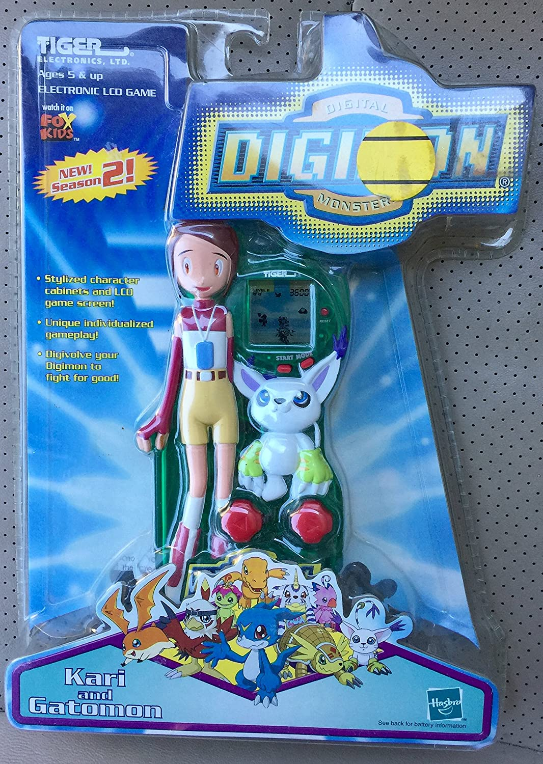 [Tiger Electronics, LTD]Tiger Electronics, LTD Digital Digimon Electronic LCD Game Yolei and Hawkmon Tiger Electronics [並行輸入品] B003Z32F2U