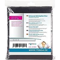 itenga Filtre à charbon actif universel 47x57cm, Filtre double avec charbon actif, Compatible avec chaque hotte aspirante
