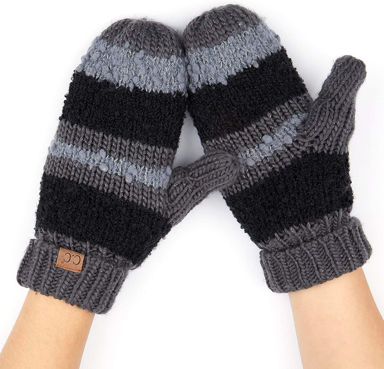 C.C Women Thick Knit Faux...
