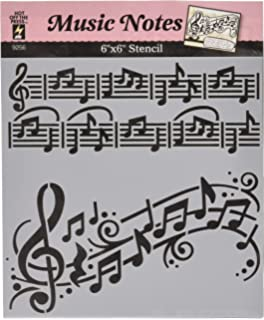 music note stencils printable