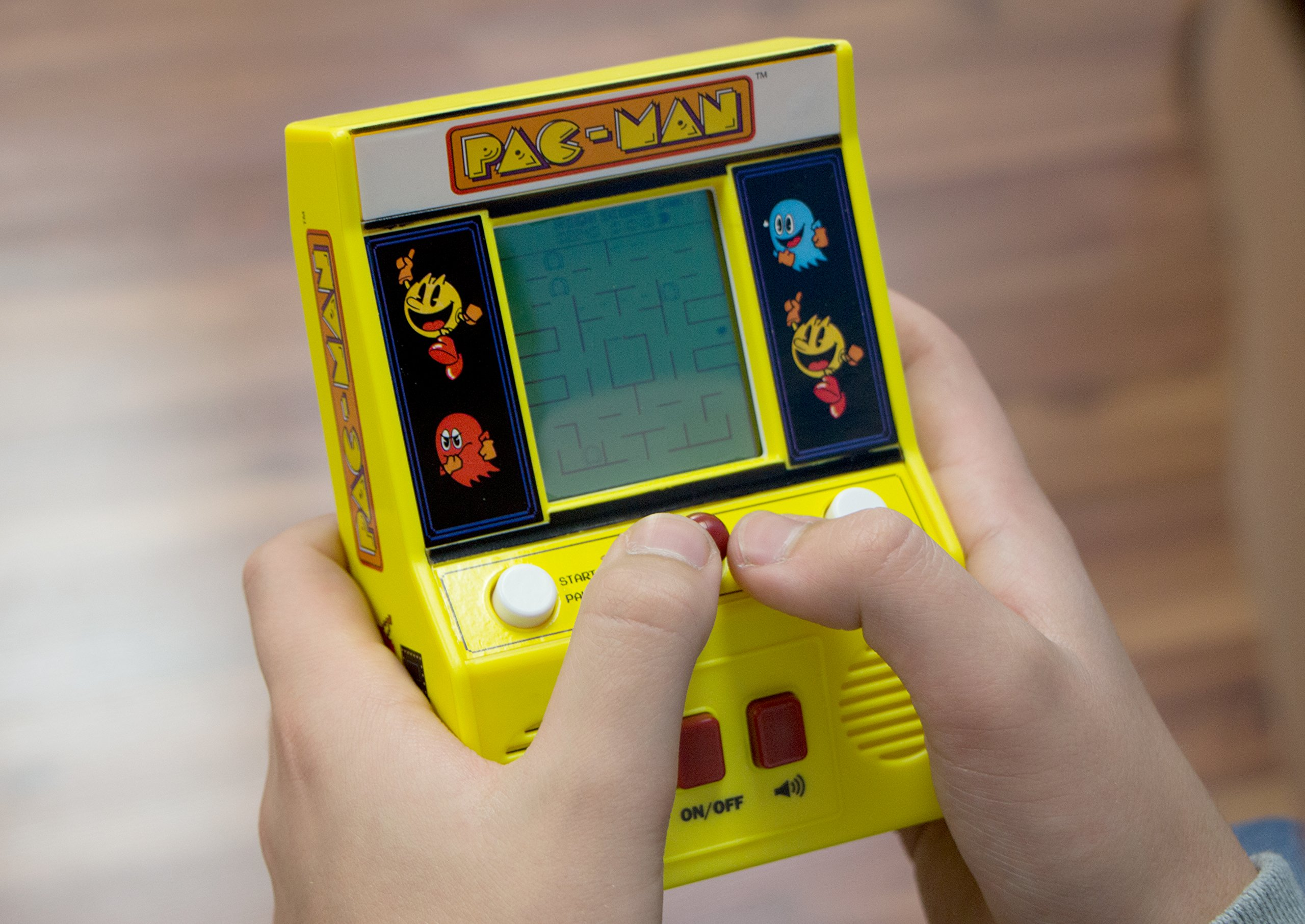 Arcade Classics - Pac-Man Retro Mini Arcade Game by Basic Fun (Image #7)