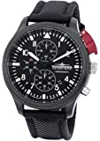Thunderbirds - BlackEditionChrono - Black IP - Textilband - Ref. TB1066/2-T01