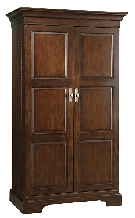 Amazon.com: Howard Miller 695-064 Sonoma Hide-A-Bar Wine Cabinet ...