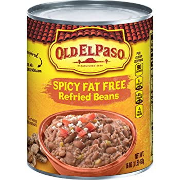 Old El Paso Refried Spicy Beans