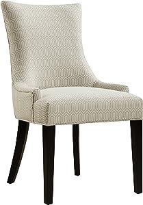 """Pulaski Modern Upholstered Dining Chair, 22"""" x 24"""" x 36"""", Neutral Haze"""