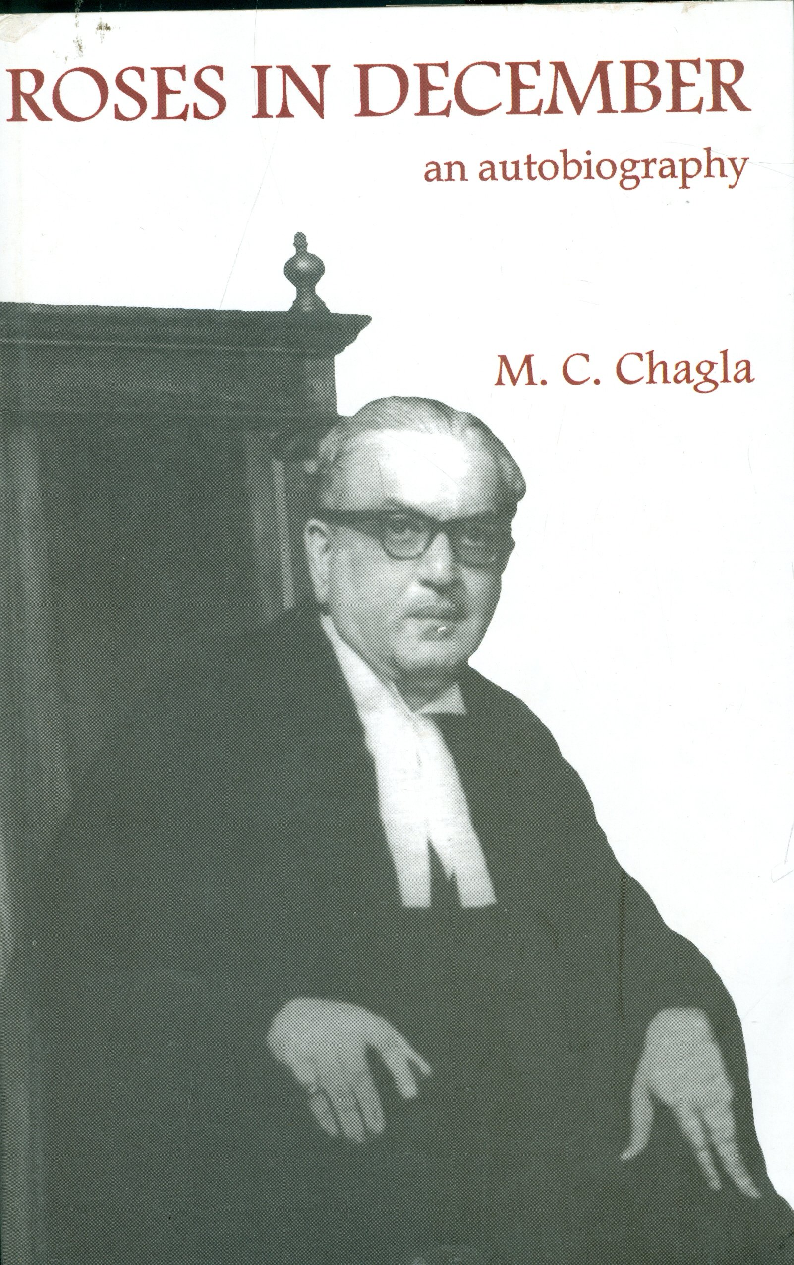 roses in december book by chagla