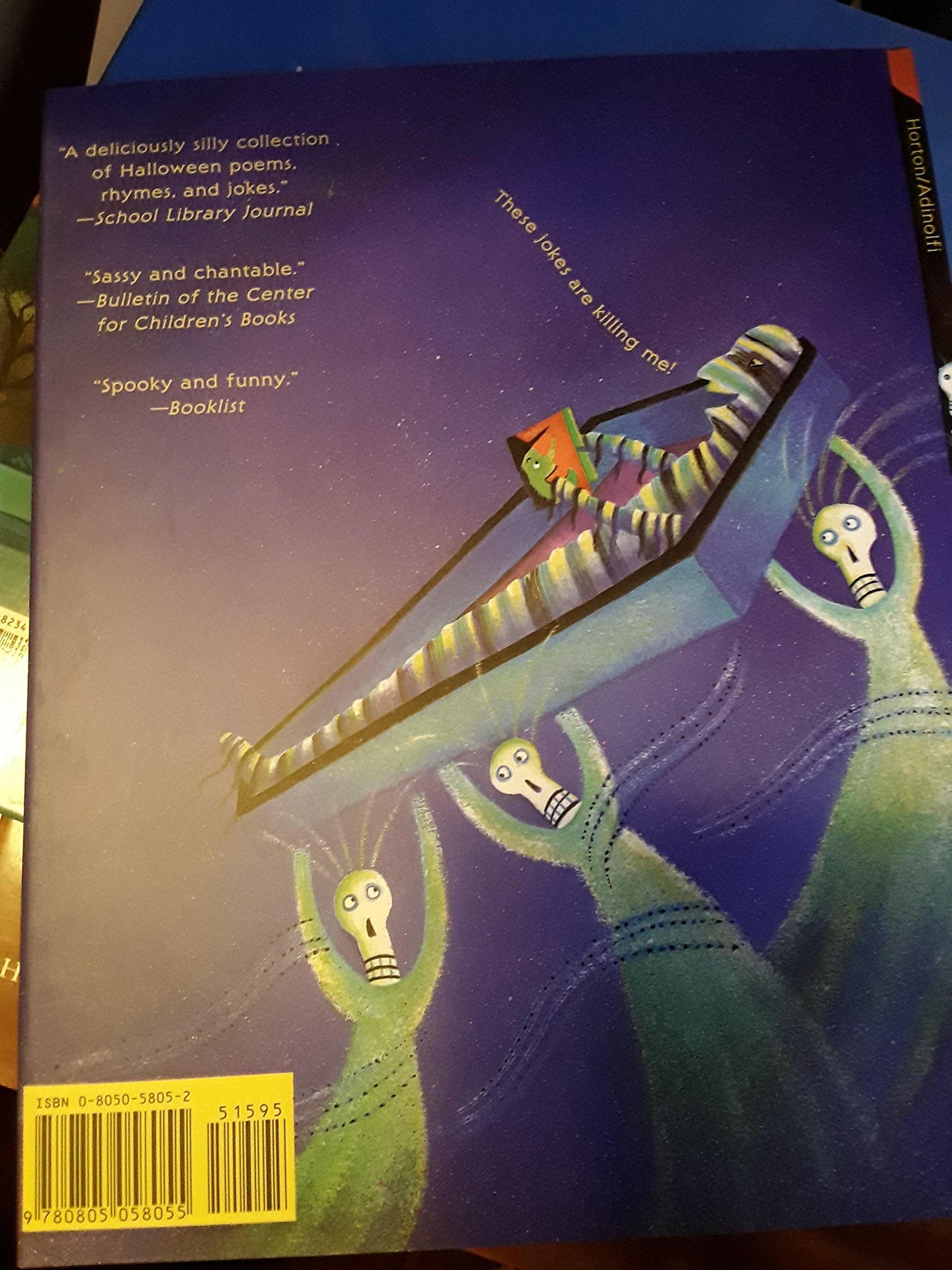 Halloween Hoots and Howls: Joan Horton, JoAnn Adinolfi: 9780805058055: Amazon.com: Books