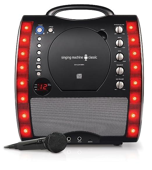 27 opinioni per Singing Machine SML343BK Impianto per Karaoke, Nero