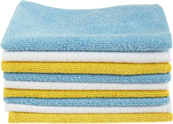 24-Pack AmazonBasics Microfiber Cleaning Cloth