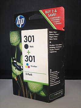 2 Original Cartuchos de tinta para HP Envy 4500 cartuchos de ...
