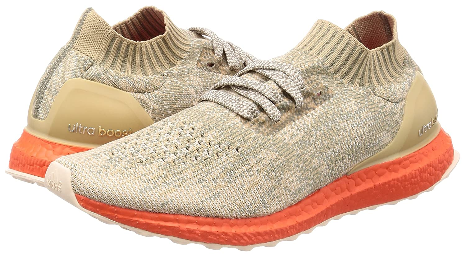 separation shoes 87ba4 b2d0a adidas Ultra Boost Uncaged Trace Cargo - Trace Cargo Linen Khaki Trainer  Size 9 UK  Amazon.co.uk  Shoes   Bags