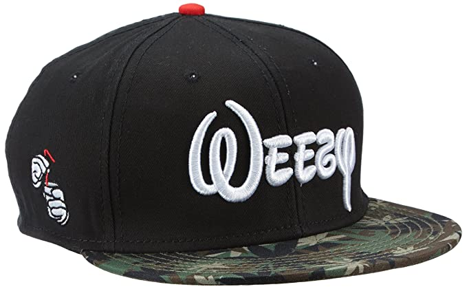 Cayler   Sons Weezy - Adults  Cap Black Hemp Camo White One Size ... cc9edca246fb