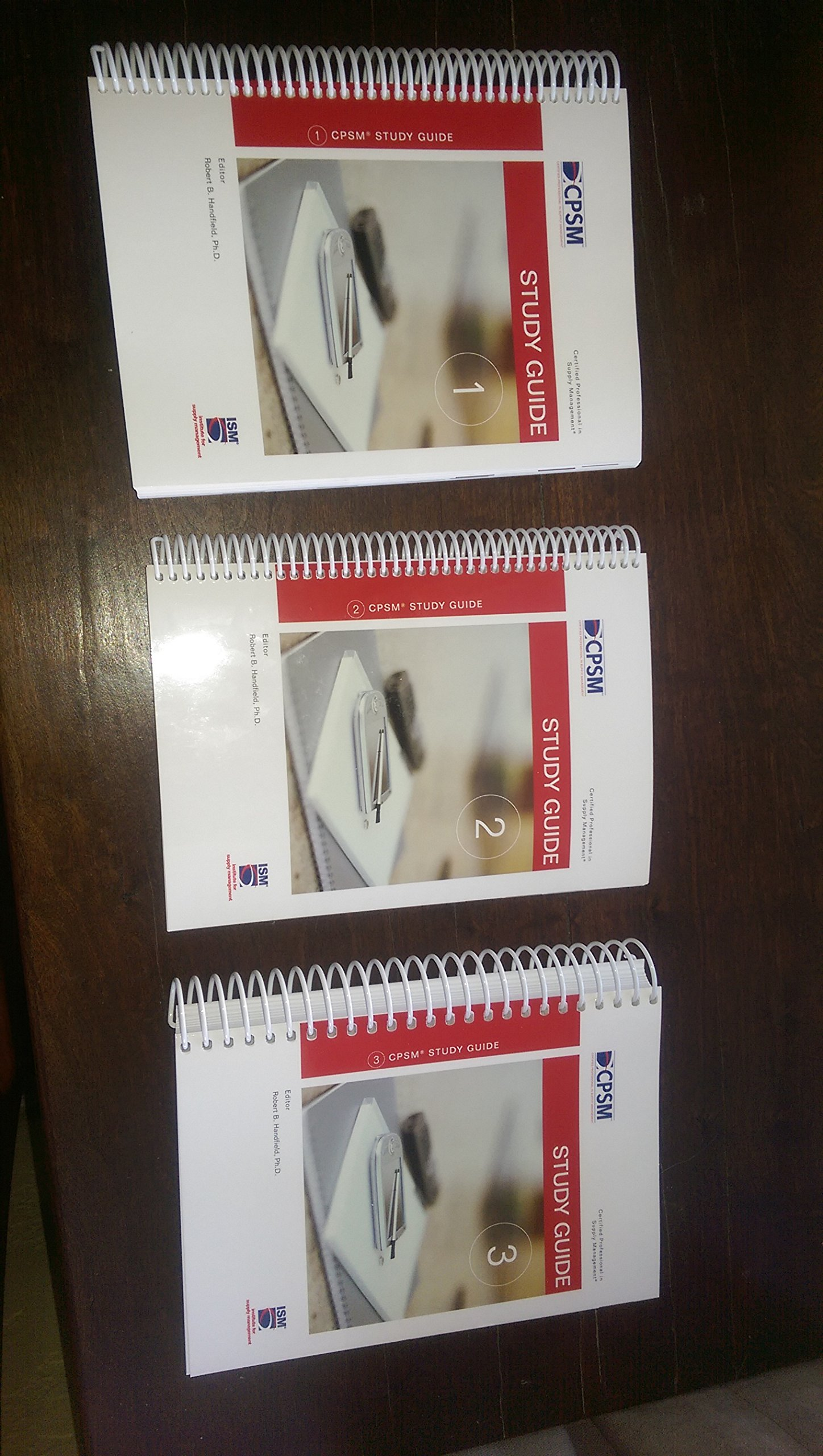Cpsm Study Guide 3 Volume Set Robert B Handfield Amazon Books
