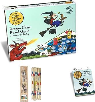 Price Toys de la habitación sobre la recaudación de Escoba Juegos - Dragón de Chase Juego de Mesa y Memory Card Game (Board/Memory): Amazon.es: Juguetes y juegos