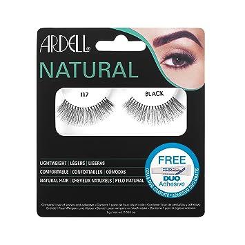 8f68f3724f1 Ardell Natural Lashes #117 Black: Amazon.ca: Beauty