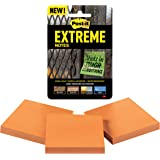 Post-it Extreme Notes, Water Resistant, Engineered for Tough Conditions, 3 Pads, Orange