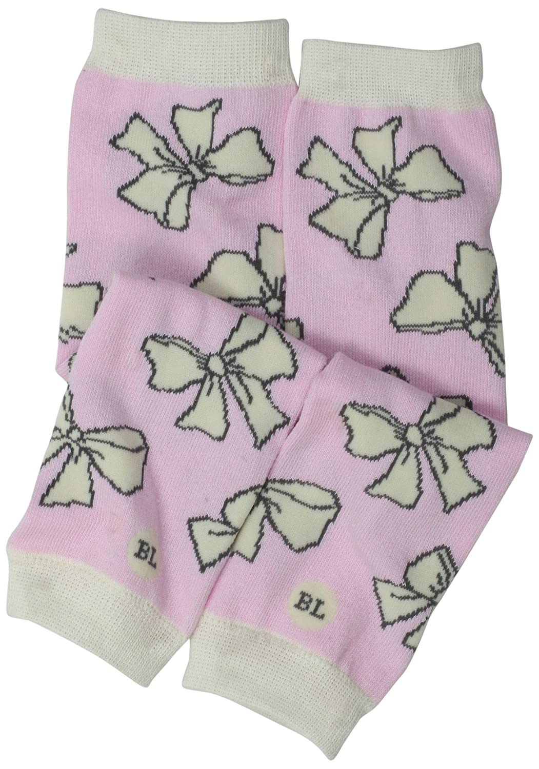 BabyLegs Baby Girls' Sashes BabyLegs Sashes-Leg Warmers Pink/Cream BabyLegs® BL13-0061