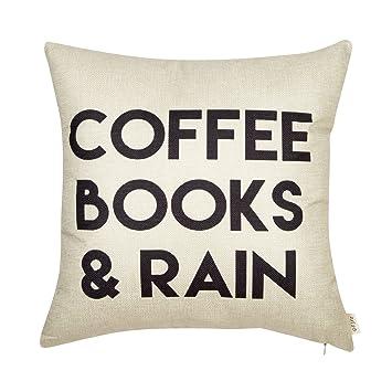 Amazon.com: Fjfz funda de algodón y lino para ...