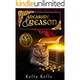 Treasure and Treason: A crazy cat thinks he's a dragon, and people keep ending up dead! (Scottish Fold Sleuth Book 2)