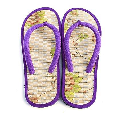 b9418ea2f76 Bamboo Flip Flop Sandals Beach Summer (11 US