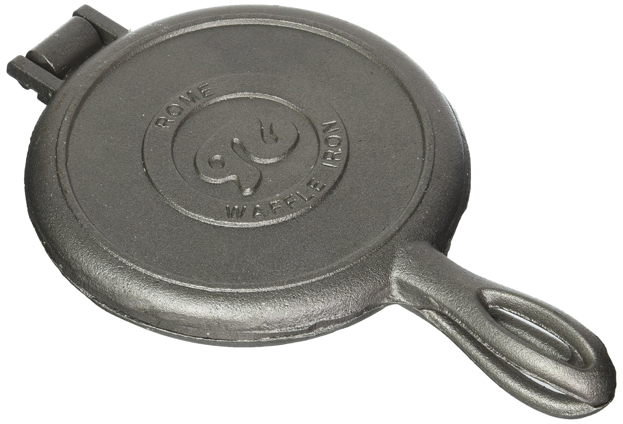 Solid Cast Iron Old Fashioned Waffle Iron by Rome's Original by Rome's Original (Image #3)