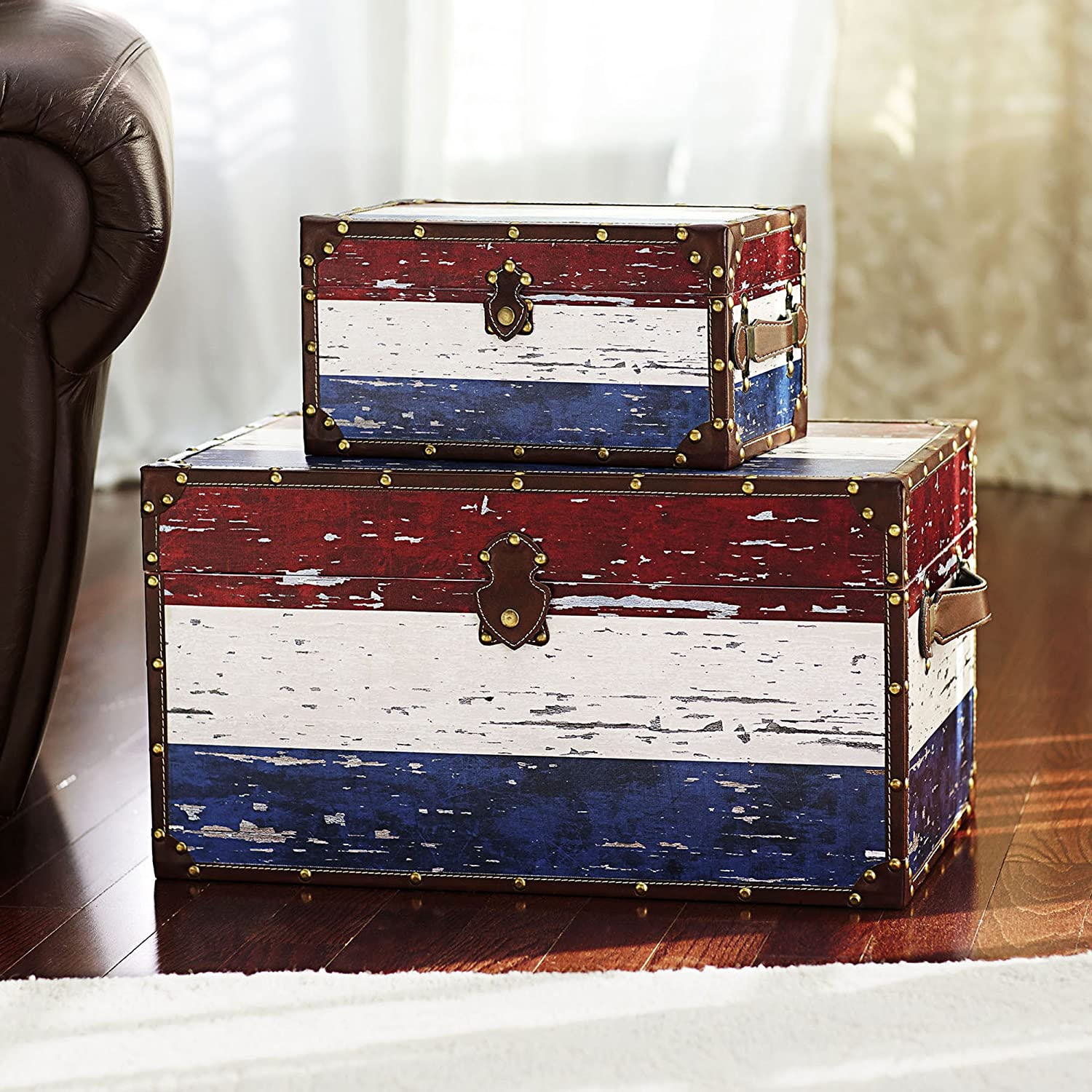 decor end add old decorative trunks table me fashioned mailgapp legs to vintage storage how coffee trunk a