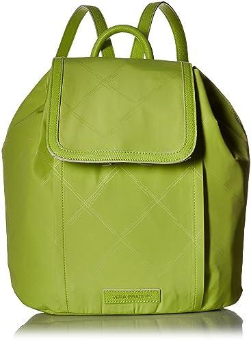 a419ada380 Amazon.com  Vera Bradley Women s Preppy Poly Backpack
