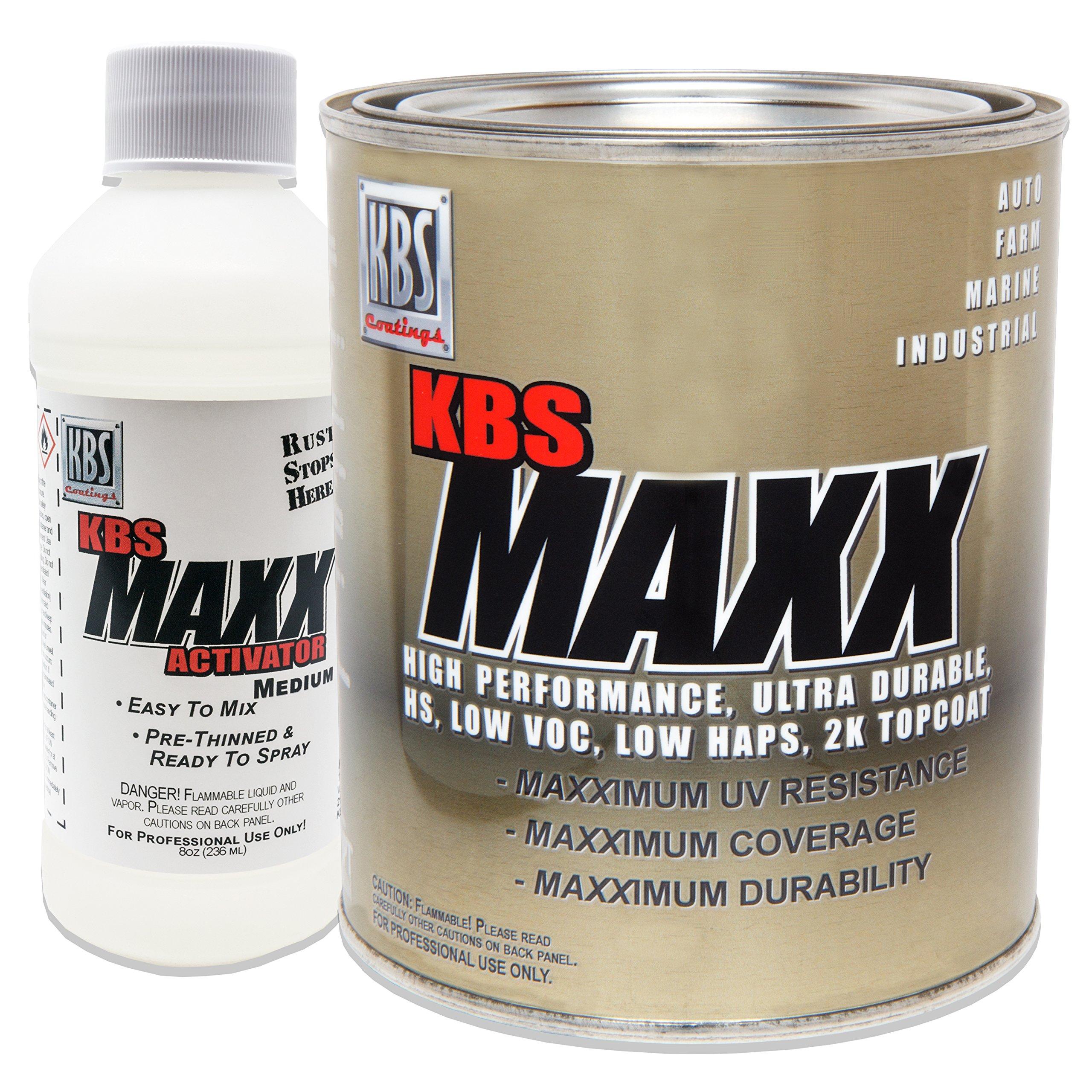 KBS Coatings 804208 Artic White MAXX Med Activator - 1 Quart