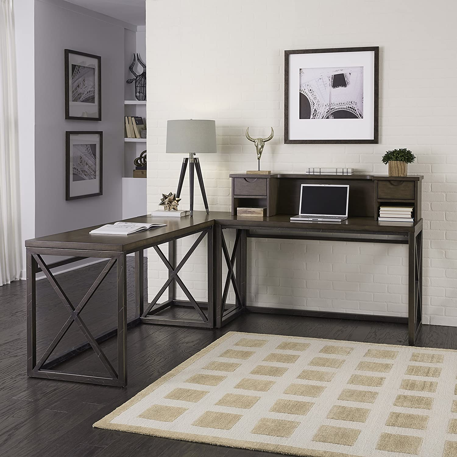 Xcel Cinnamon Finish Home Office Ensemble by Home Styles