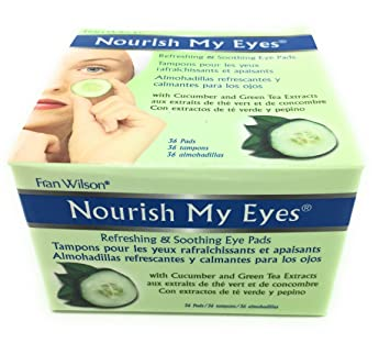 Fran Wilson Nourish My Eyes Cucumber Eye Pads 36 ea (Pack of 4) Clinical Polyphenol Peel 30% 120ml