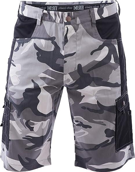 Imagen deDINOZAVR Crambe Pantalones Cortos de Trabajo - Bermudas Cargo para Hombre con Bolsillos Multifuncionales