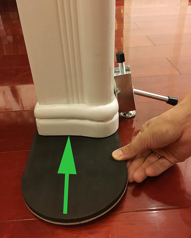 Linkw – Elevador de muebles, minigato para levantar muebles y aparatos y colocar la herramienta de desplazamiento.Con palanca para trabajos pesados, ...